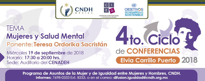 4to. Ciclo de Conferencias: